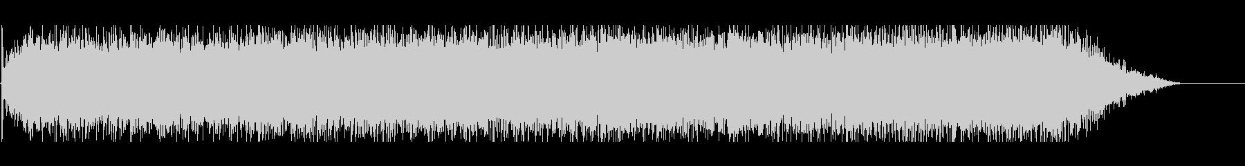 ウィーーン(電動ドライバーの音)の未再生の波形