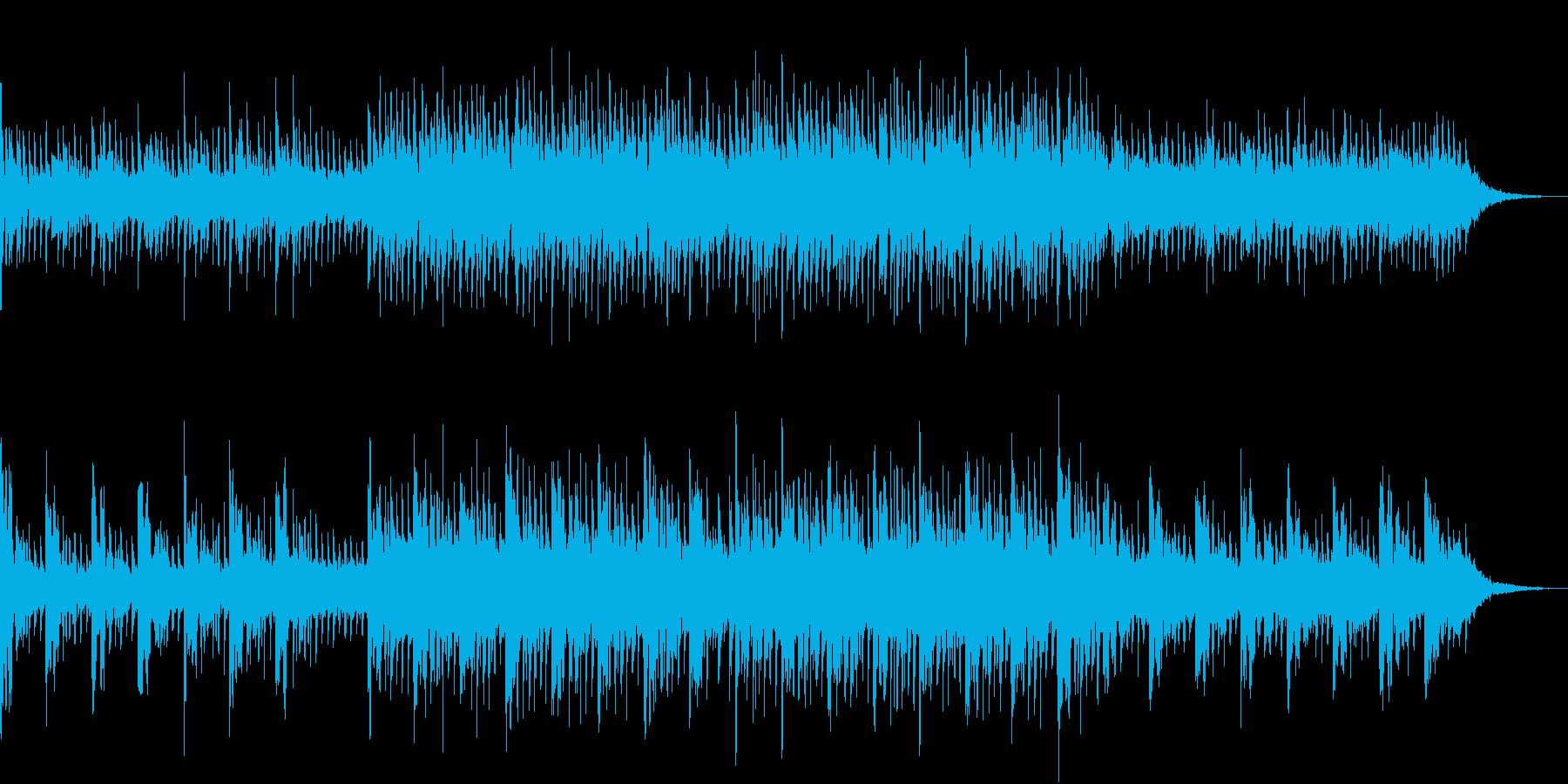 爽やかで元気なエレクトロの再生済みの波形