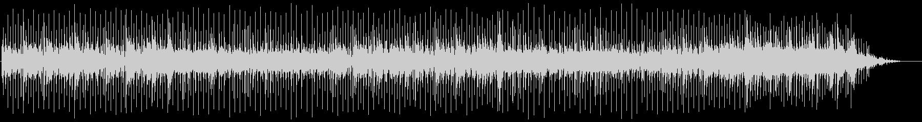 歌謡曲風ほのぼのバラードの未再生の波形