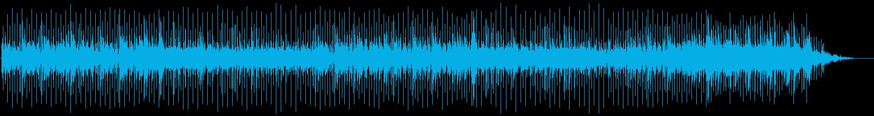 歌謡曲風ほのぼのバラードの再生済みの波形