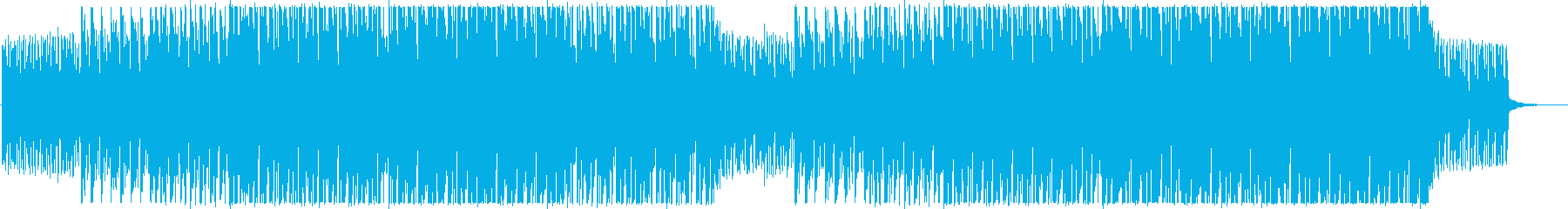Refreshing and stylish corporate BGM's reproduced waveform
