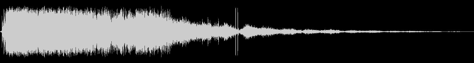 クラッシュブラストインパクトアンド...の未再生の波形