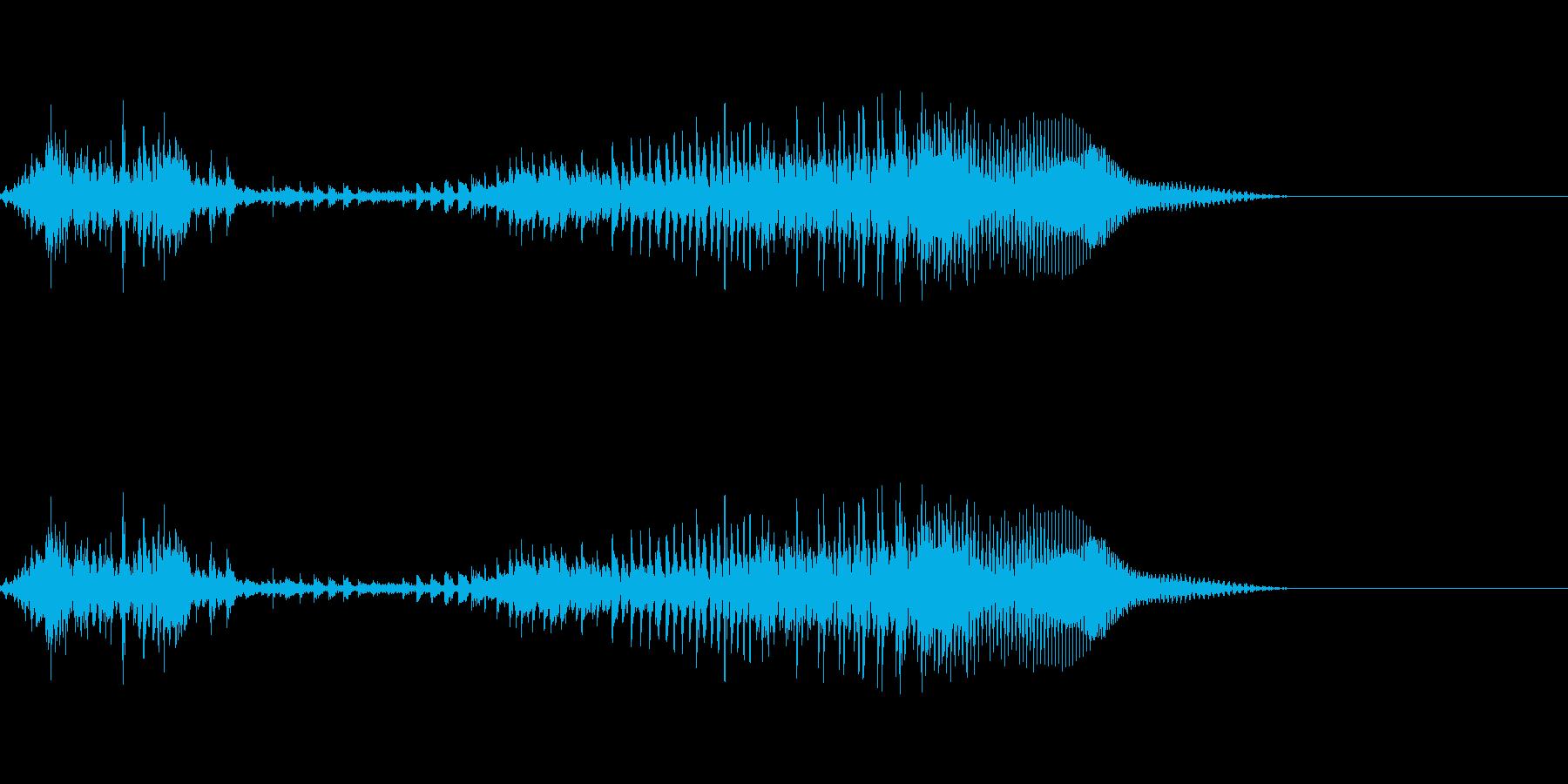 てぇい!3(勢いあり)の再生済みの波形