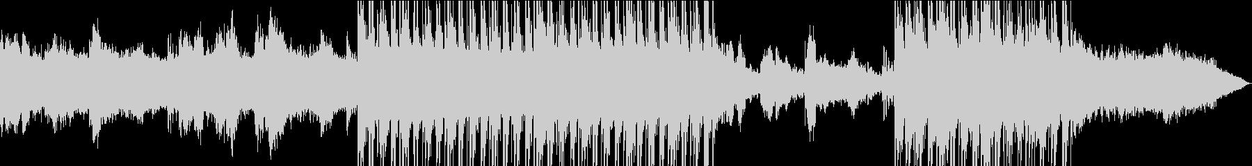 神秘的でアンビエントなエスニックサウンドの未再生の波形