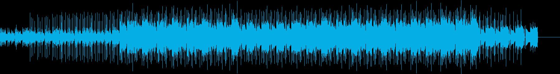 ネガティブでもパワーのあるテクノロックの再生済みの波形