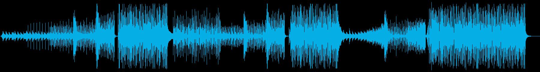 夏 爽やか ハウス メロ無版の再生済みの波形