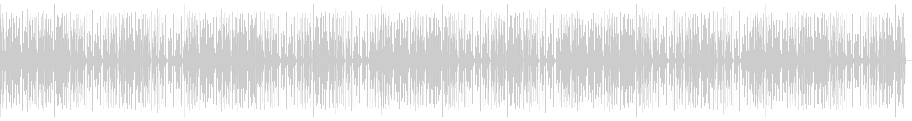 ヒップホップ・R&Bおしゃれエンディングの未再生の波形