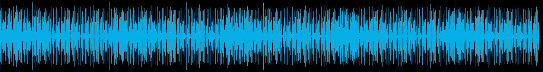 ヒップホップ・R&Bおしゃれエンディングの再生済みの波形
