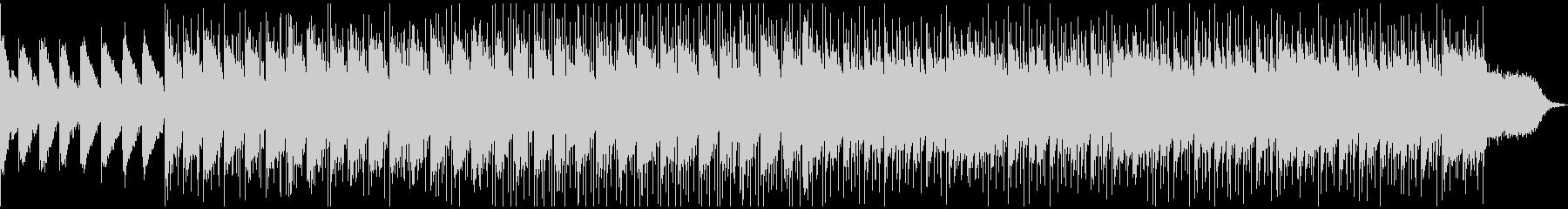 クールなドラムンベース風の未再生の波形