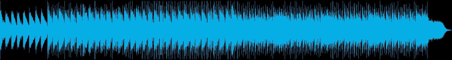 クールなドラムンベース風の再生済みの波形