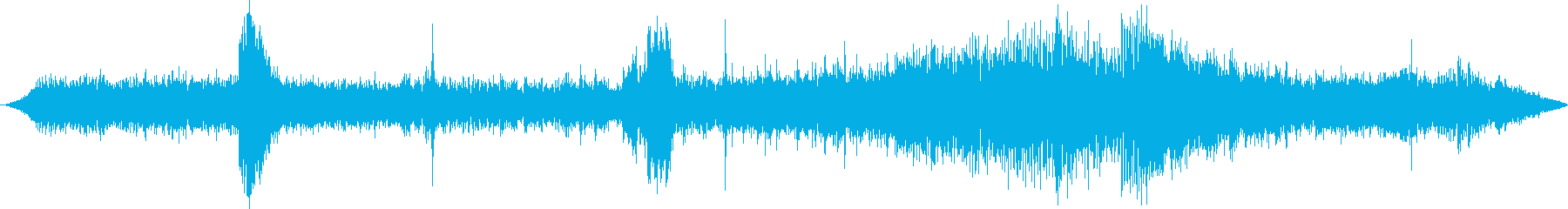 運河または河川バージ:内線:スクラ...の再生済みの波形