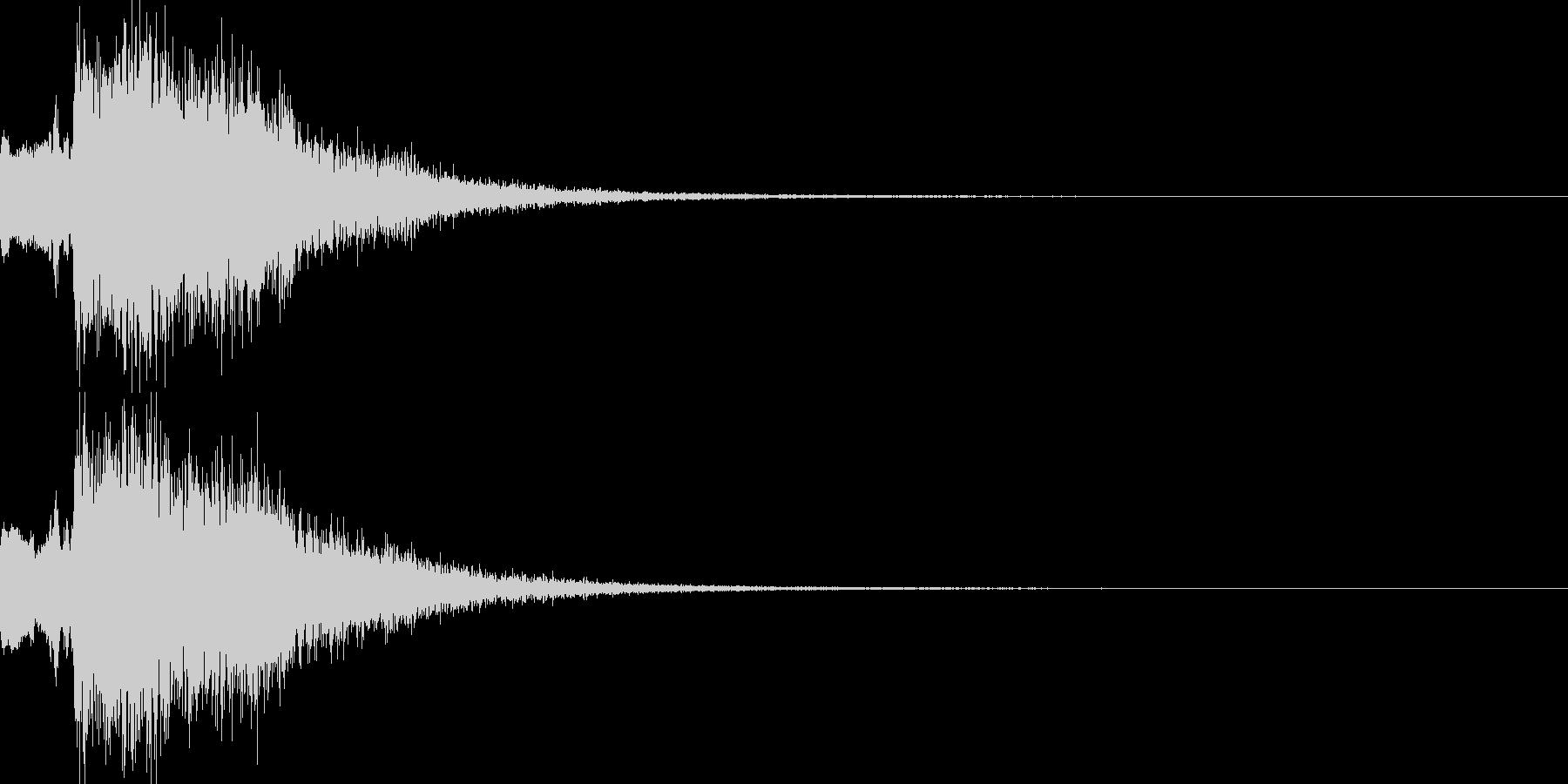 魔法音07_Aの未再生の波形