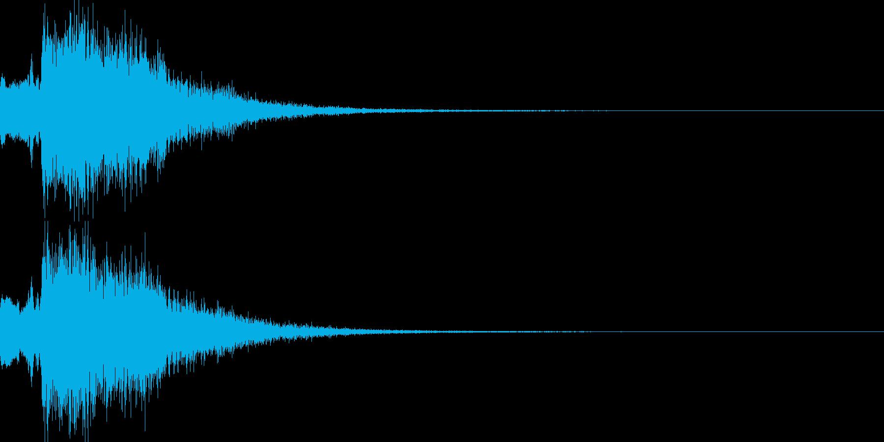 魔法音07_Aの再生済みの波形