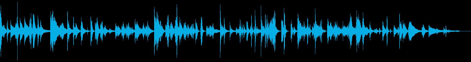 思考がはじけ飛んだカオス空間-ピアノソロの再生済みの波形