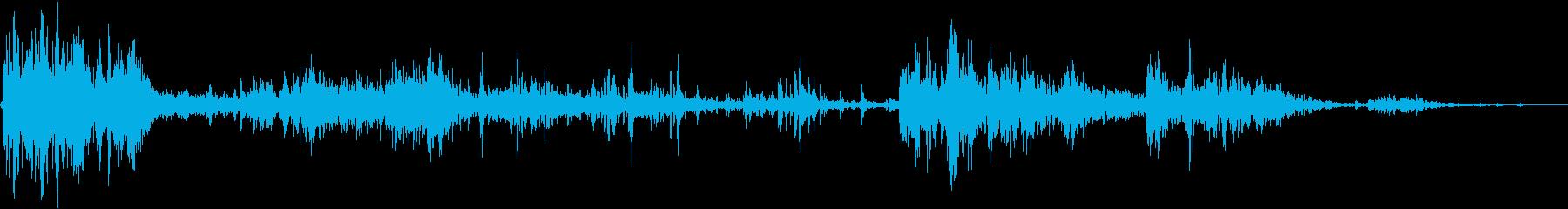 シングルサンダーストライク、ライトニングの再生済みの波形