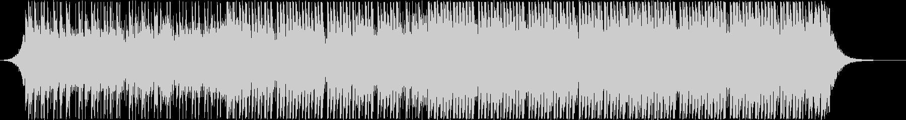 アップリフティングハウス(中)の未再生の波形