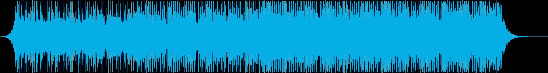 アップリフティングハウス(中)の再生済みの波形