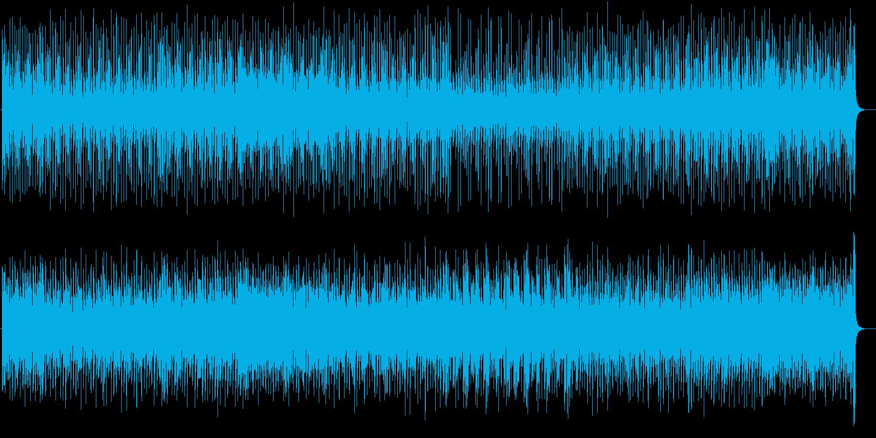 明るくファンタジーなシンセサウンドの再生済みの波形