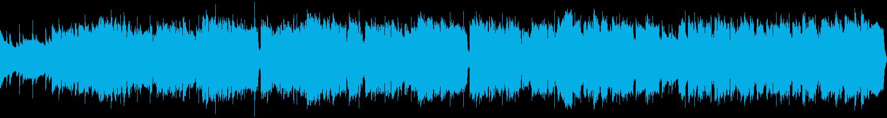 牧歌的村BGM(RPGファンタジー)の再生済みの波形