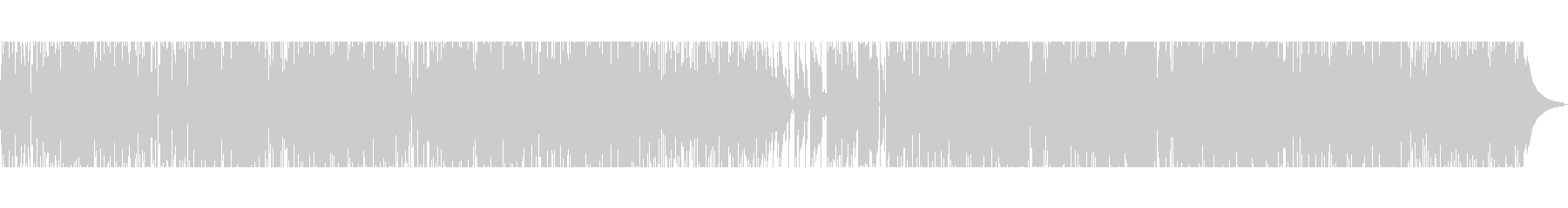 【ギターソロ無し】70年代ソウルポップスの未再生の波形