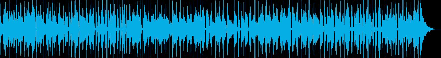第九、ボサアレンジのんの再生済みの波形