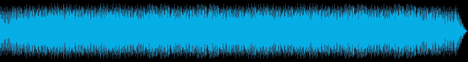 ボサノバ風明るく爽やかで控えめなBGMの再生済みの波形
