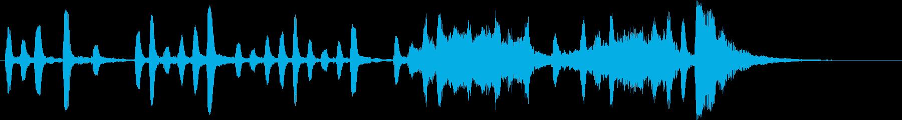 Voice 15 秒ジングルの再生済みの波形