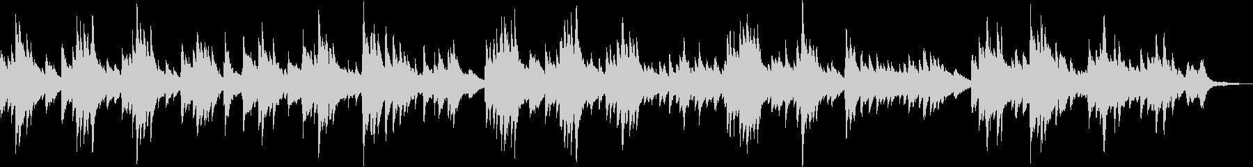 ピアノ・感動・温かい・BGM・バラードの未再生の波形
