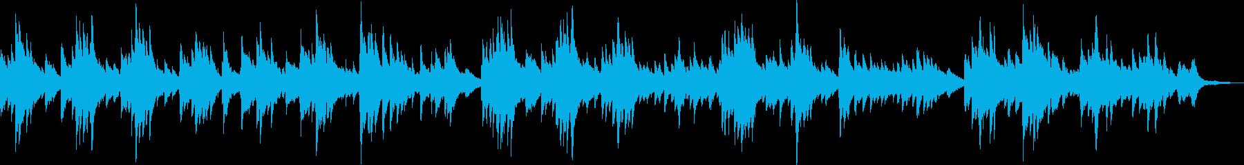 ピアノ・感動・温かい・BGM・バラードの再生済みの波形