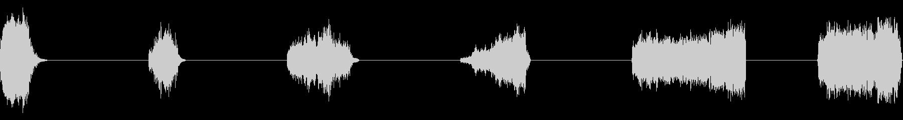 恐竜:鳴き声、ホラー、モンスター、...の未再生の波形