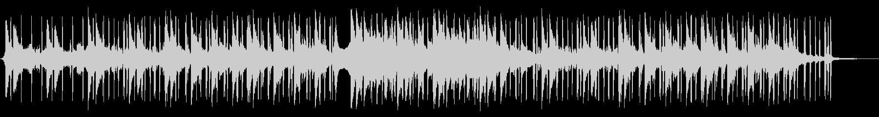 気だるげなピアノLOFI HIPHOPの未再生の波形
