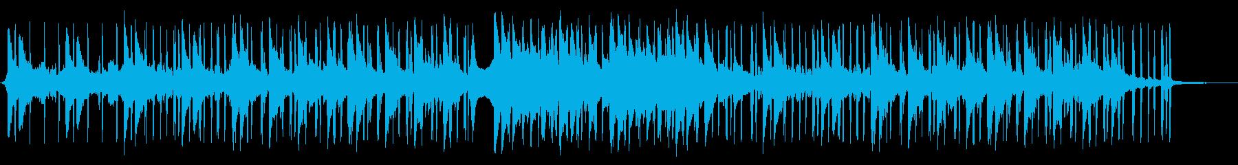 気だるげなピアノLOFI HIPHOPの再生済みの波形