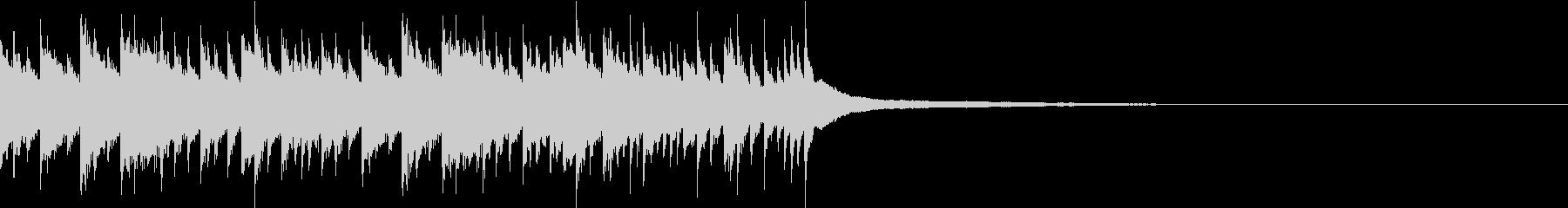 明るく爽やか軽快なピアノ曲 企業VP-Uの未再生の波形