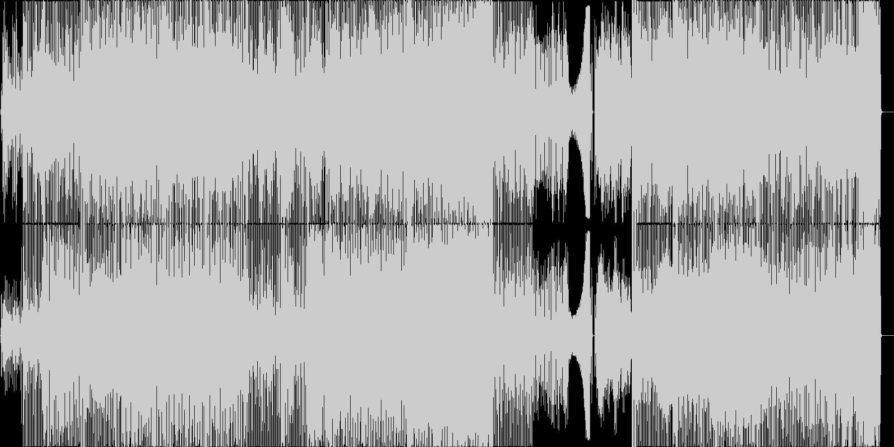 TABIGARASUの未再生の波形