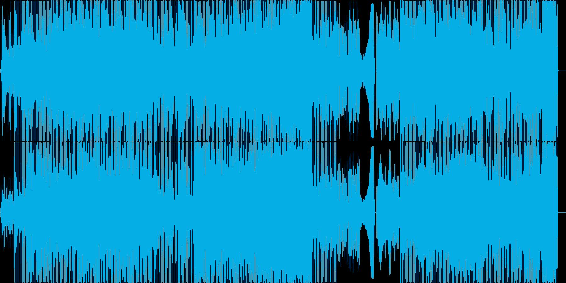 TABIGARASUの再生済みの波形
