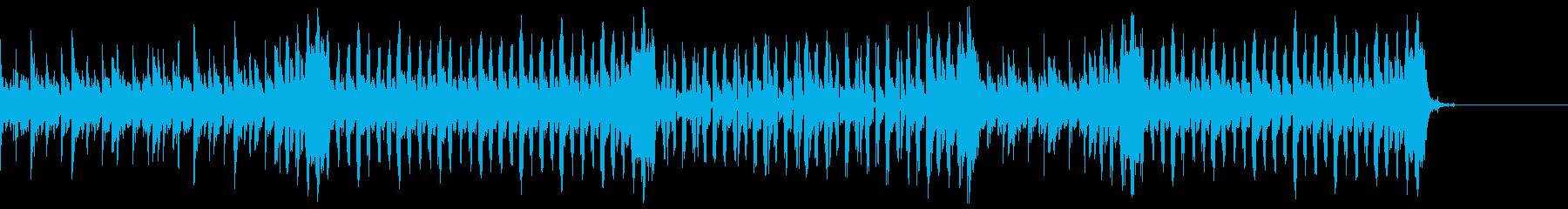 幻想的な高速ハウスアンビエント 60秒の再生済みの波形