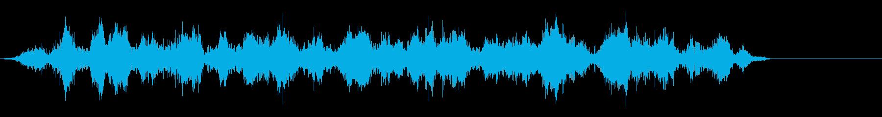 ヘビーボウウォッシュ、モーターなしの再生済みの波形