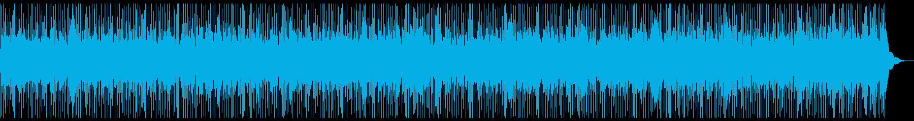 疾走感あふれるカントリーフォークの再生済みの波形