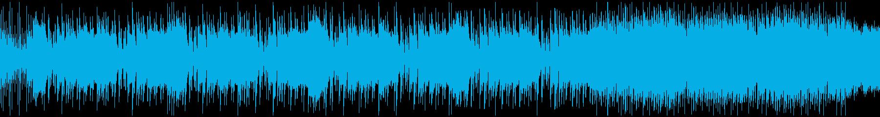 【アツく激しく/ロック/メタル/ギター】の再生済みの波形