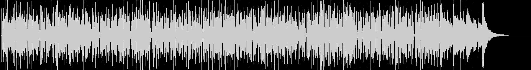 ジングルベル アコギ ボサノバの未再生の波形