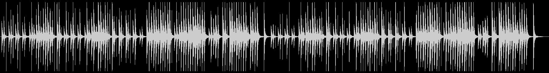 Lo-Fiで切ない『ジムノペディ 1番』の未再生の波形