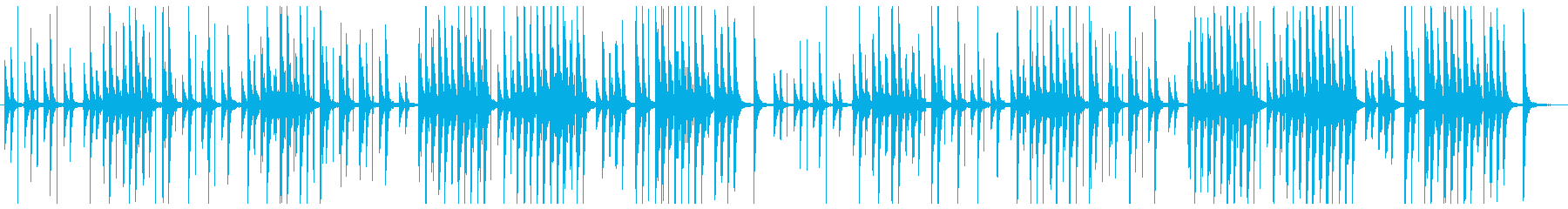 Lo-Fiで切ない『ジムノペディ 1番』の再生済みの波形