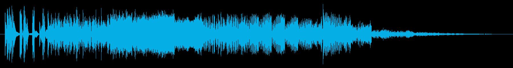 テクノウォーズの再生済みの波形