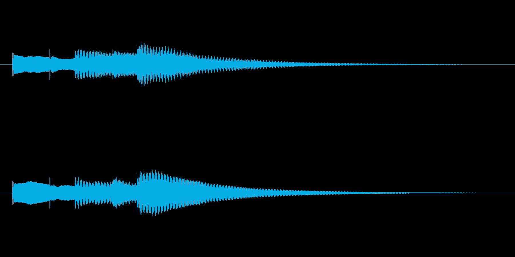 テーテ トート テンの再生済みの波形