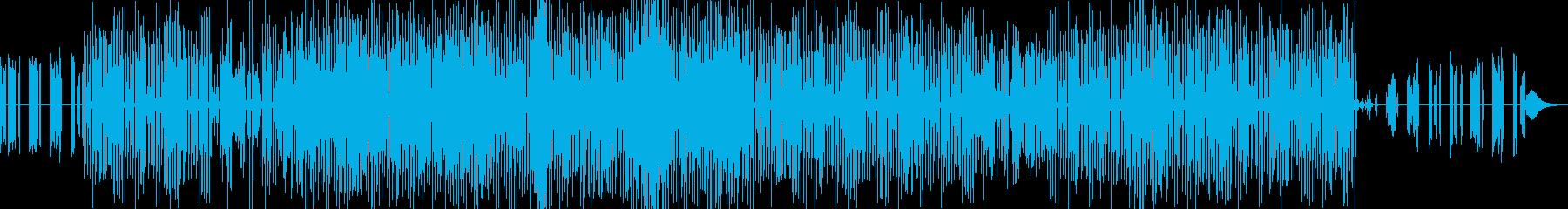 和風インダストリアルBGMです。の再生済みの波形