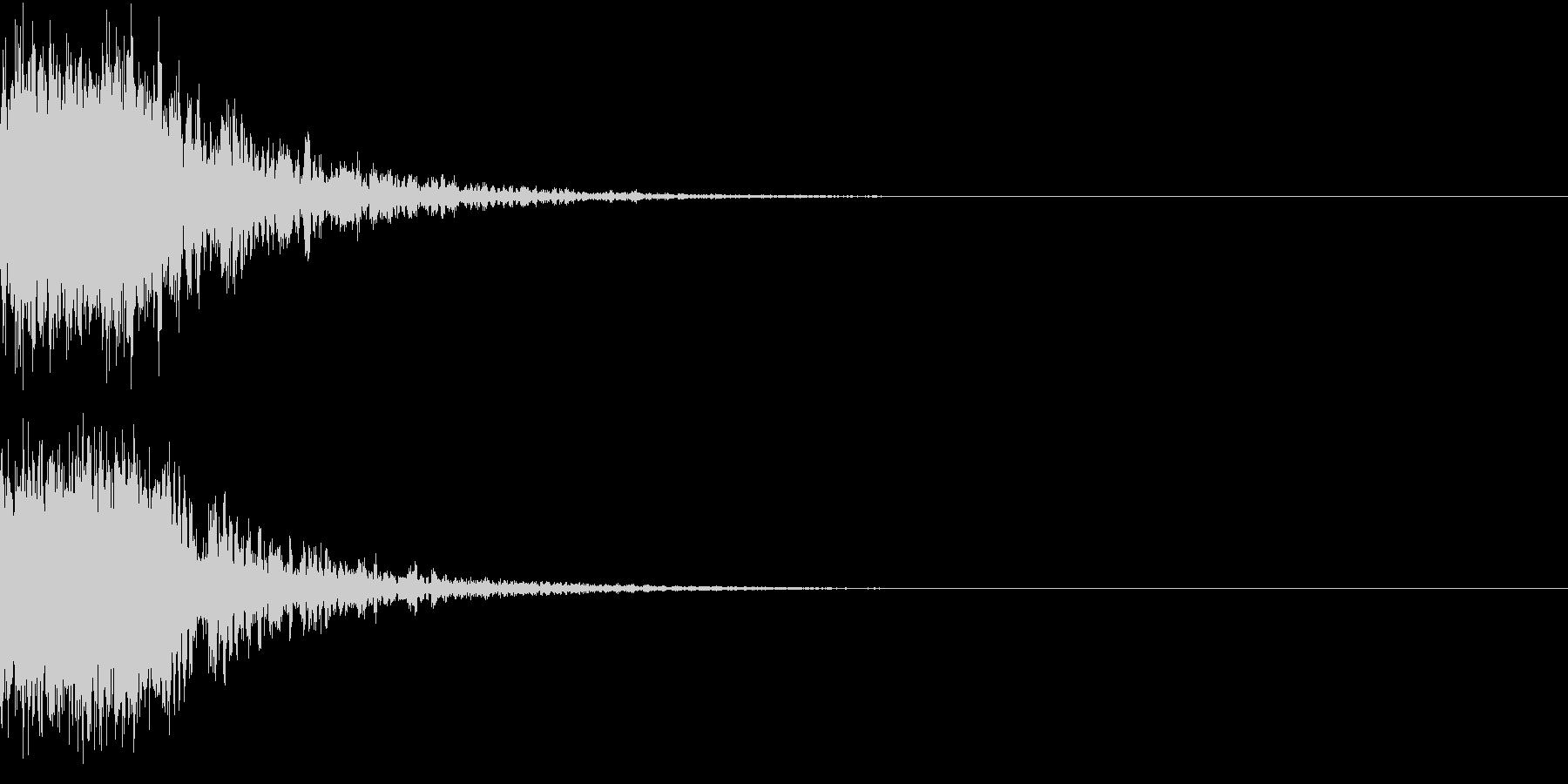 恐竜 怪獣 吠える 衝撃 ホラー 01の未再生の波形