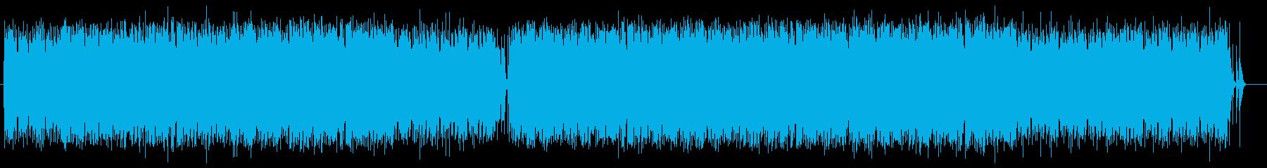 アップリフティングで軽快なテクノポップの再生済みの波形