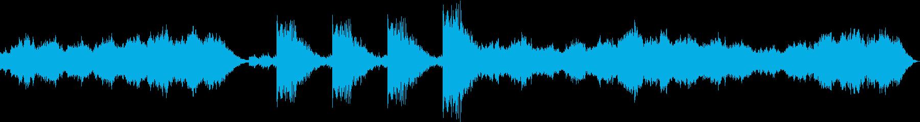 悲しいシネマサウンドの再生済みの波形