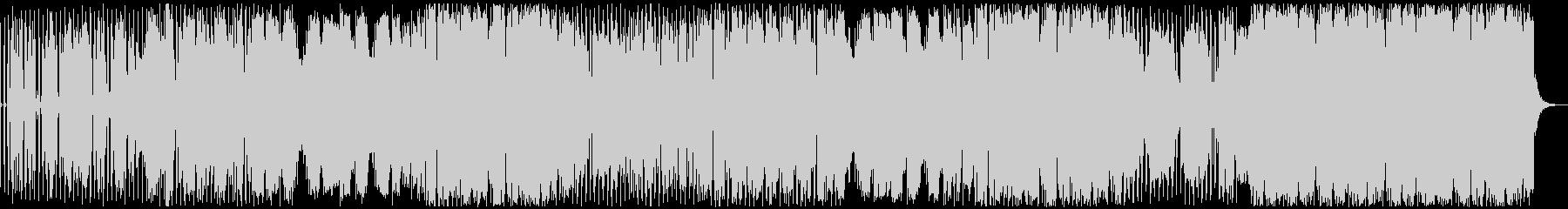 ファンクなシンセ曲の未再生の波形