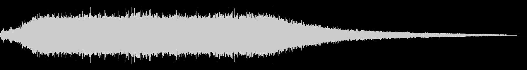 タービンエアバキューム:スタート、...の未再生の波形